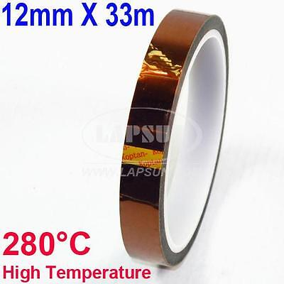 Kapton tape High Temperature 12mm x 33M for BGA