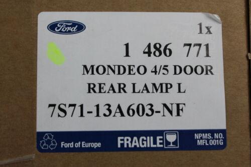 Original Rückleuchte links innen Ford Mondeo 5-türig Bj 2//2007-8//2010 1486771