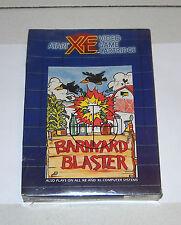 ATARI XE XL BARNYARD BLASTER Video game cartridge NUOVO sealed 7800 cx2610