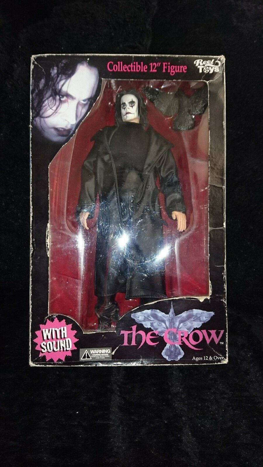 Reel Toys Neca The Crow Talking Toy Figure in box