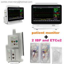 New Patient Monitor Vital Signs Ecg Spo2 Nibp Temp Etco2 Ibp Contec Ts13