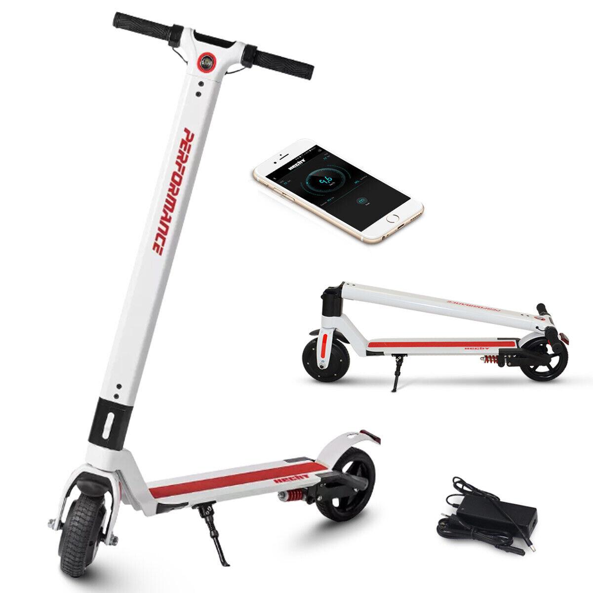 Hecht 5125 E-Scooter ElektrGoldller Cityroller Roller Faltbar Electro 250W LED