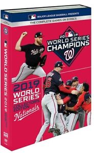 2019-WORLD-SERIES-COLLECTOR-039-S-EDITION-WASHINGTON-NATIONALS-New-Sealed-8-DVD-Set
