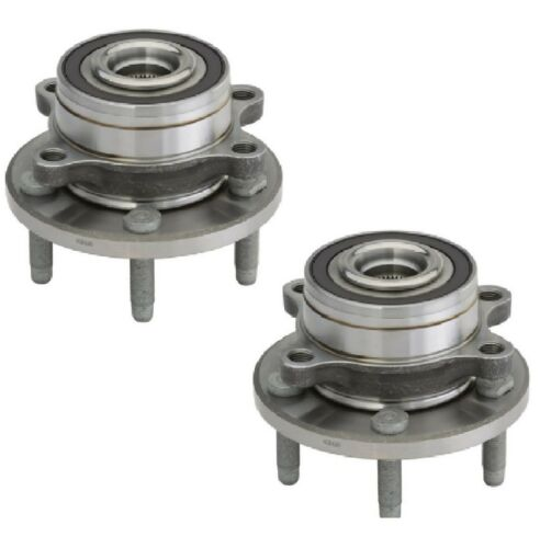 FRONT Wheel Hub Bearing Assembly For 2011-2016 FORD EXPLORER PAIR