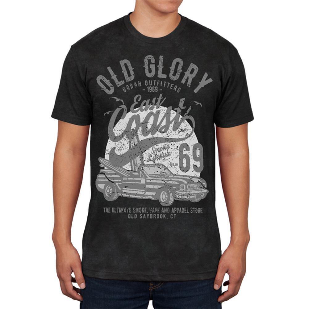 Old Glory East Coast 69 Mens Soft T Shirt