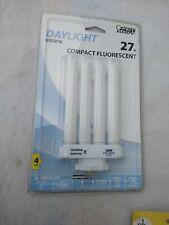 New /& Open Box FEIT 27W PL 5.875/'/' in L CFL Bulb Daylight Speciality 6500 K
