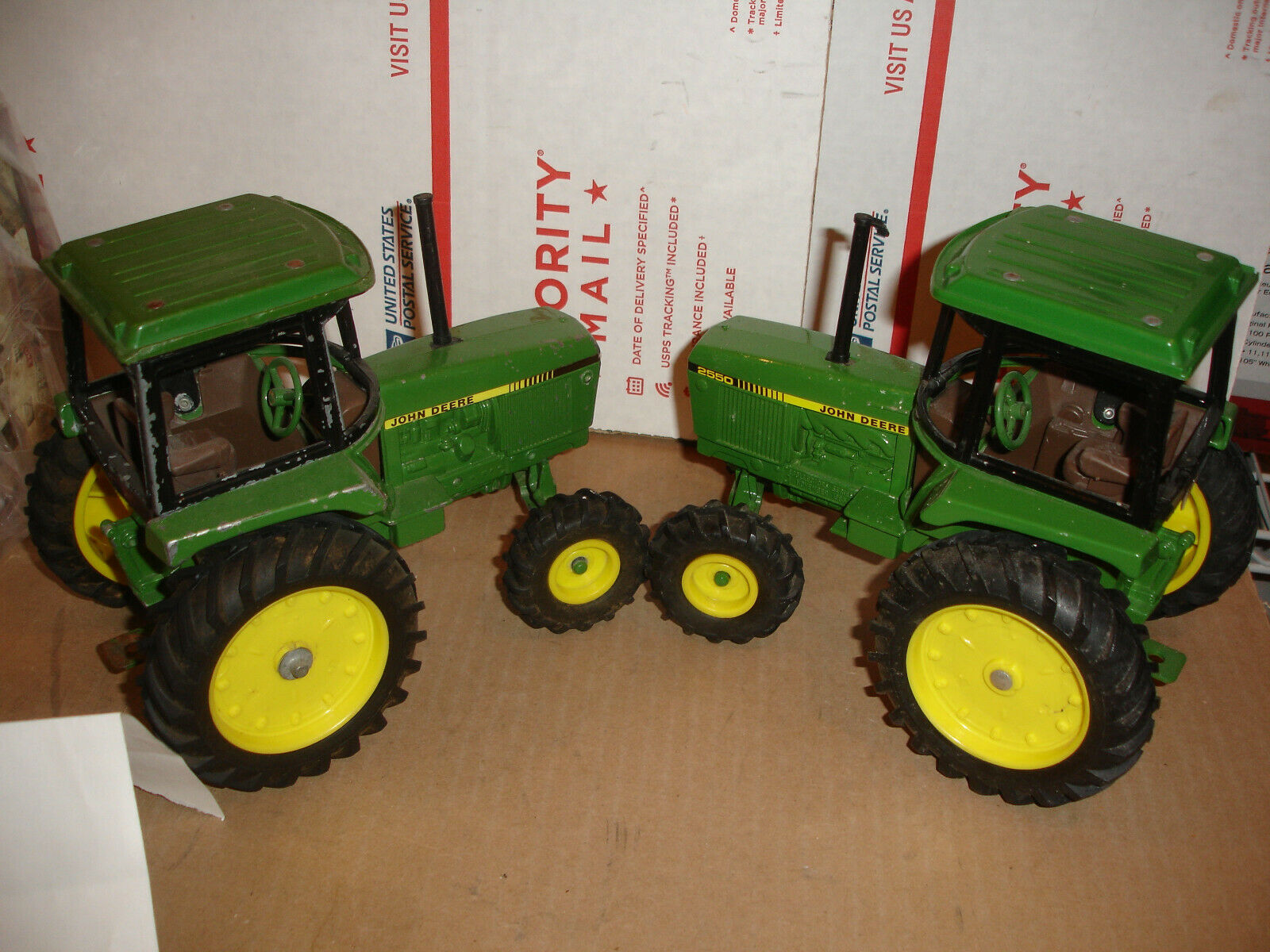 1 16 john deere 2550 toy tractor diecast