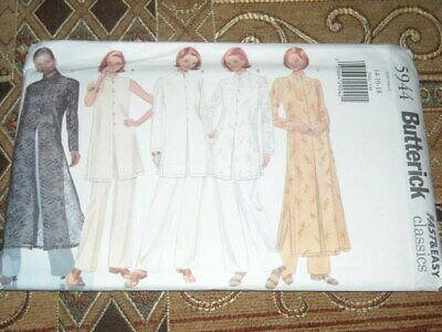 McCALL/'S # 8831 LADIES ORIENTAL INFLUENCED TWO LENGTH DRESS PATTERN  4-8 FF