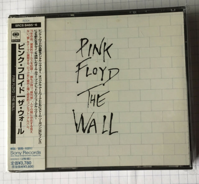 PINK FLOYD - The Wall JAPAN 2CD NEU SRCS-8485-6