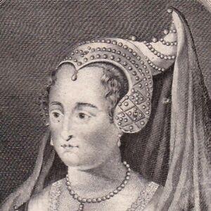 Portrait-XVIIIe-Marie-De-Bourgogne-Duchesse-Bourgogne-Comtesse-Hollande-Zelande