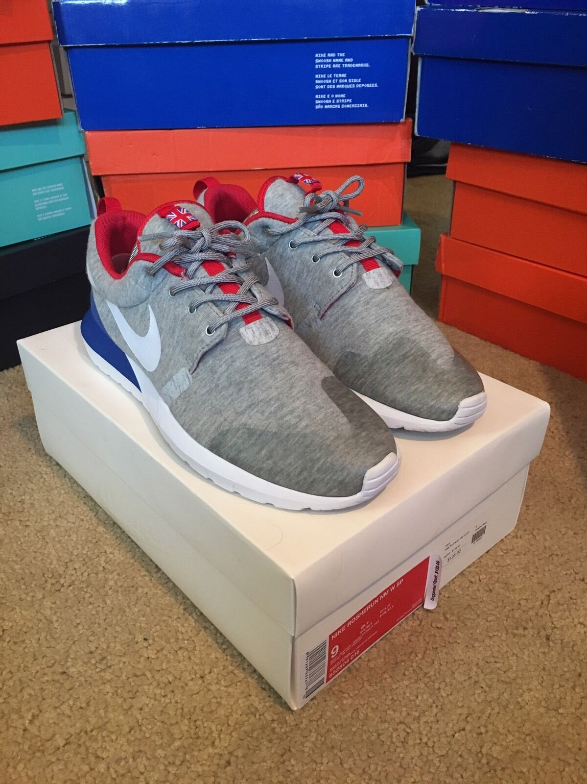 Nike Roshe Run NM W SP Great Britain 652804 016 9 The latest discount shoes for men and women
