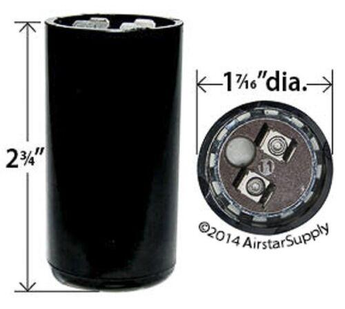 PACK USA 216-259 uF MFD 110 125 VAC VOLT Electric Motor Start Capacitor 10