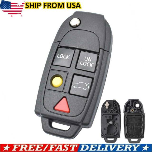 For 2003 2004 2005 2006 2007 2008 2009 2010 Volvo S60 S80 Car Remote Key Fob