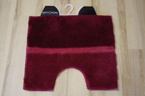 Natte tapis de bain Mali pink 50x55 cm wc tapis stand-wc