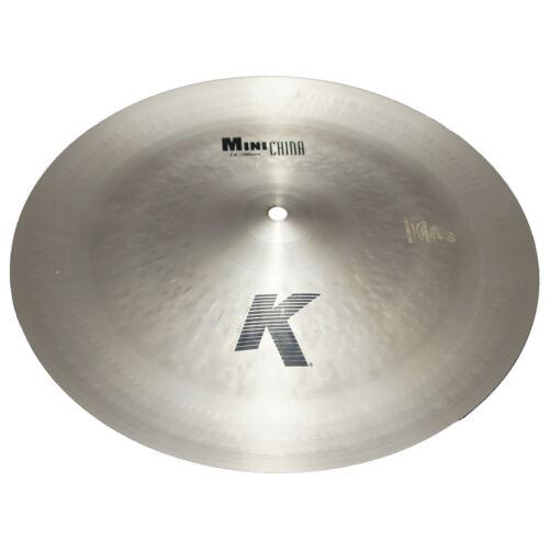 "Zildjian K0881 14/"" K Mini China Crash Drumset Bronze Cymbal Dark Sound Used"
