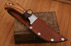 Custom-Hand-Made-Pure-Leather-Sheath-For-Fixed-Blade-Knife-Q07