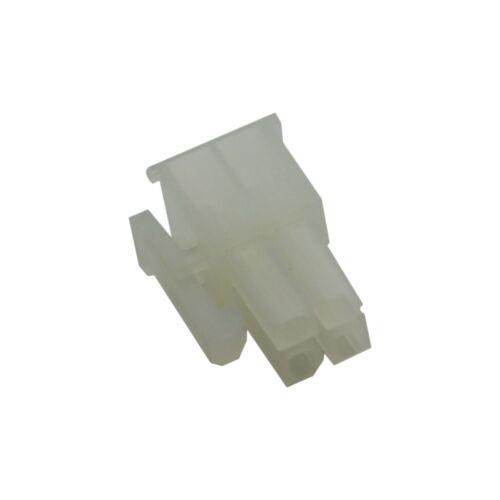 10x MX-5557-04R210 Connector Wire-Fil//PCB Série Mini-Fit Jr Plug Femelle Molex