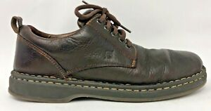 Born-Mens-Leather-Casual-Derby-Oxfords-Shoes-Lace-Up-Size-10-Brown