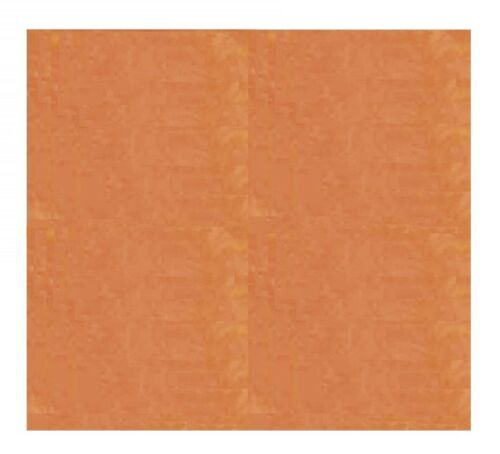 """18 Ga Copper Sheet Metal 12/"""" x 12/"""" Square //one Side Covered with PVC"""