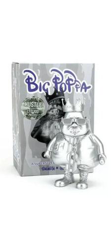 Hustle MC Big Poppa Chrome Edition Limited 100pcs by Clutter x Ron English
