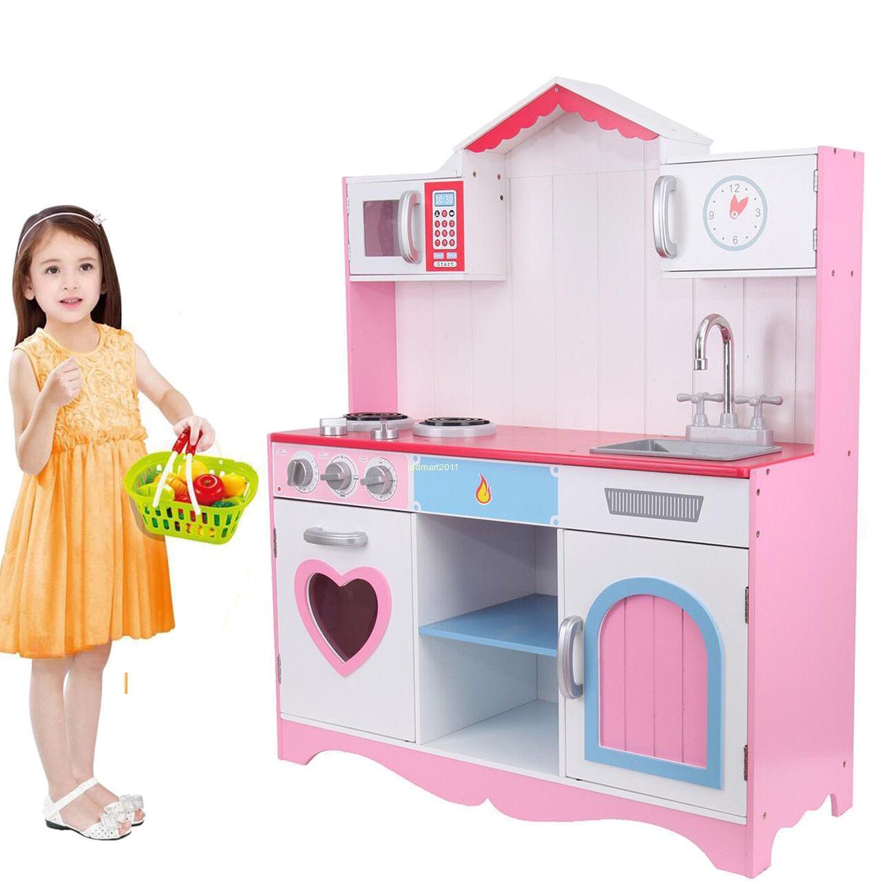 Ridgeyard Küche Kochen Rollenspiel vorgeben Spielzeug Herd Baby Play Set