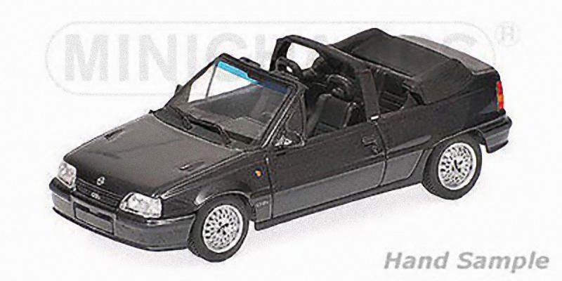 MINICHAMPS 400045931 - Opel Kadett GSI cabriolet noir  1 43