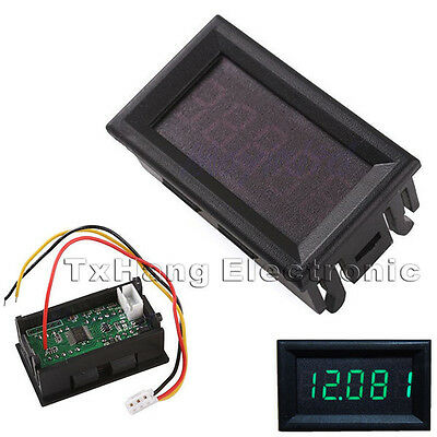 "Green 0.36""  LED 5 Digit DC 0-33.000V Digital Voltmeter Voltage Meter Car Panel"