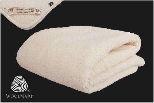 Merino Wool Cot bed Baby Mat Cover Under Blanket Mattress Topper Sheet 81//51cm