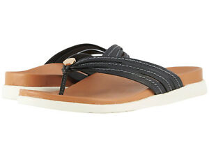 0afcfa9c32c9b Image is loading Women-Vionic-Catalina-Flipflop-Sandal-Palm-Catalina-Black-
