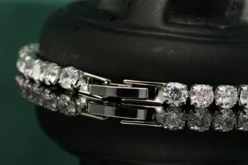 2.00CTW ROUND LCS DIAMOND WEDDING ENGAGEMENT TENNIS BRACELET  SZ 7  INCH