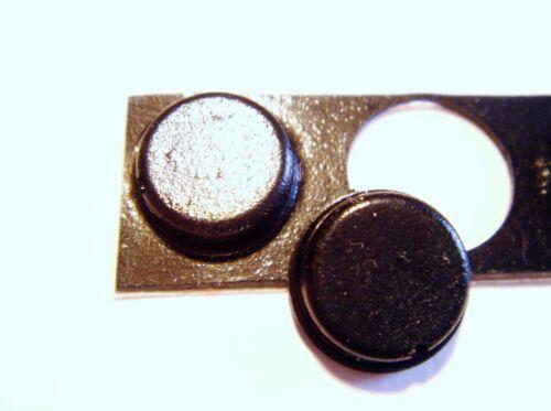 12x Gummifüße zum Aufkleben Gerätefuß Fuß 8mm #14Y01
