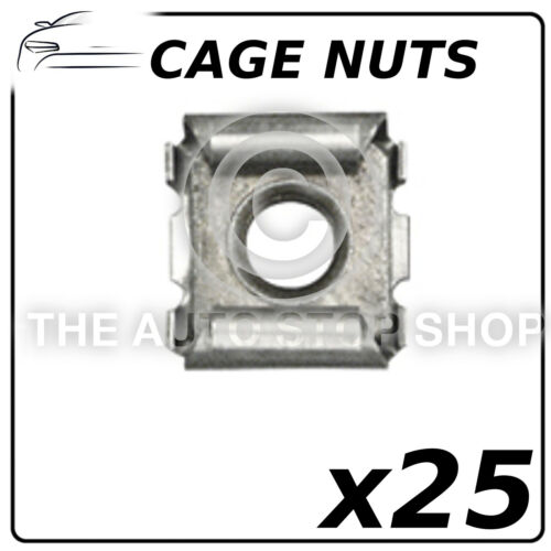 Relay 1307-1510 Tagora Part Metal Cage Nuts Citroen ZX Talbot 150 25 Pack