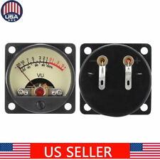 High Precision Audio Power Amplifier Vu Meter Db Level Header With Backlight Usa