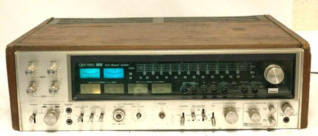 SANSUI qrx-9001 Quad 4/2 Kanal Hifi Stereo Receiver