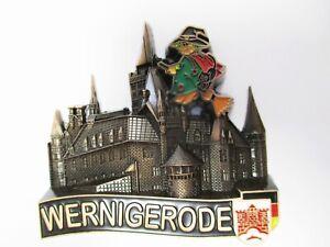 Wernigerode Metal Magnet Germany Souvenir Germany, New