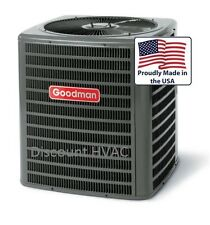 1.5 ton 13 SEER Goodman central AC unit air conditioning Condenser GSX130181