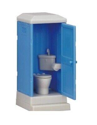 *121 EPOCH Funny Capsule Bathroom Restroom Figure Squat Toilet Gashapon