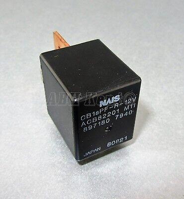 248-Isuzu Mitsubishi //90-07 4-Pin Black Relay 8971807940 4-Pin NAiS ACB82201-M11