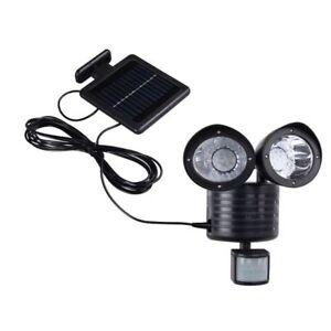 De 2 Spot Led Lampe Solaire Luminaires Jardin Eclairage avec ...