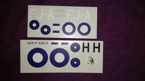 Plane Bits Decals 1//48th Scale RAAF Catalina Part Two