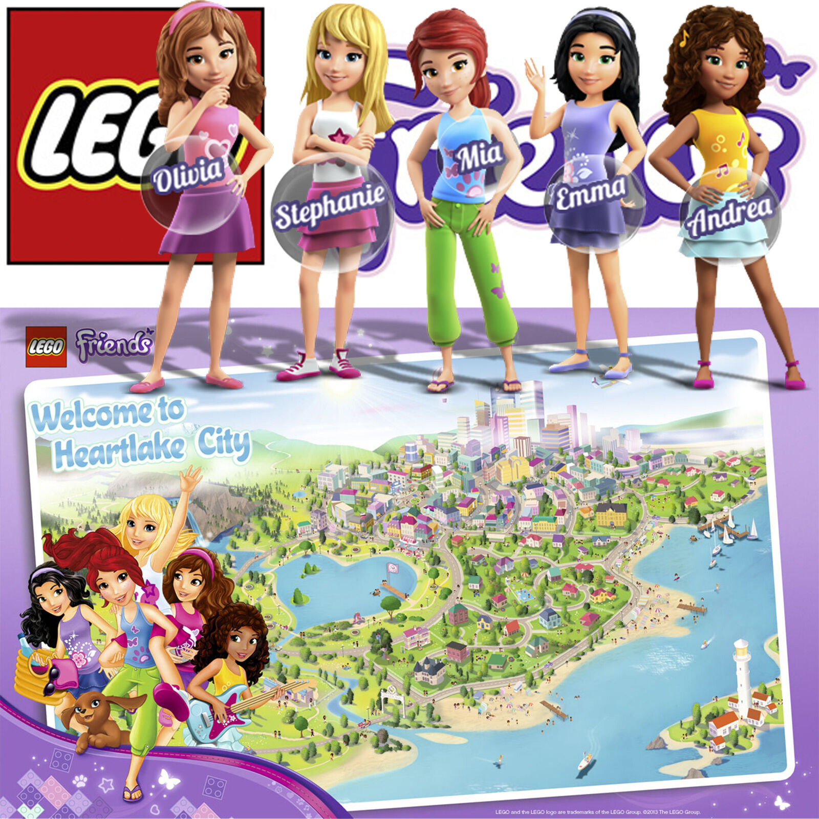 LEGO FRIENDS 41039 41037 41035 41043 41028 41007 41015 41008 41005 41006 3315