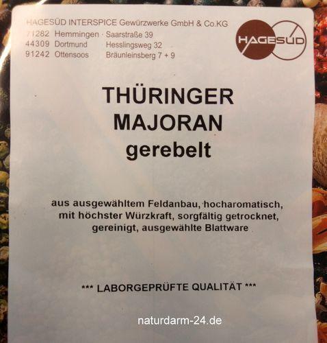 Thüringer Majoran 0,5kg Premium Gewürze Gewürz HS