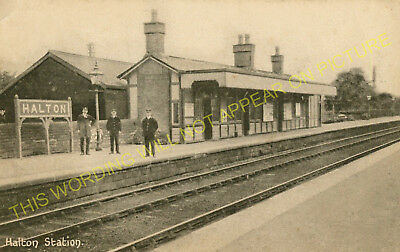 Halton Railway Station Photo 2 Wennington Line Midland. Caton Lancaster