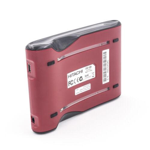 Hitachi Simple Drive Mini 250GB USB 2.0 Portable External Hard Drive 0S00363