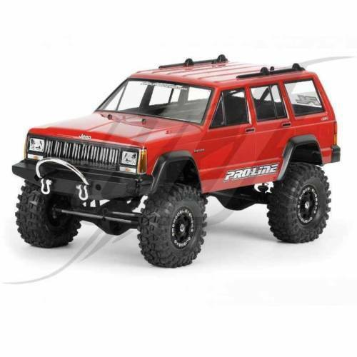 Carrozzeria ProLine 1992 Jeep Cherokee Rubicon Clear Body 3321-00 SCALER SCALER SCALER 092cf4