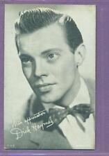 1940'S EXHIBIT ARCADE CARD ACTOR SINGER DICK HAYMES VG +