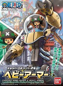 Bandai-one-piece-Kit-Chopper-Robo-Super-2-Heavy-Armour-Model-Kit-New-Boxed