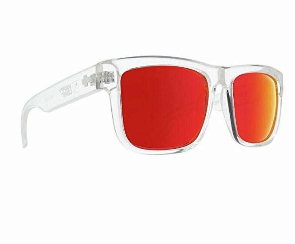 Spy Discord gafas de sol Clear rojo Spectra polarized gafas Spy Optic 2019