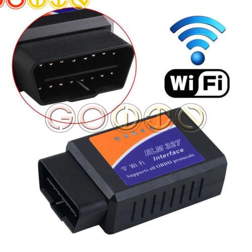 ELM327 Bluetooth  OBDII Car Diagnostic Scanner Code Reader Tool for IOS HW