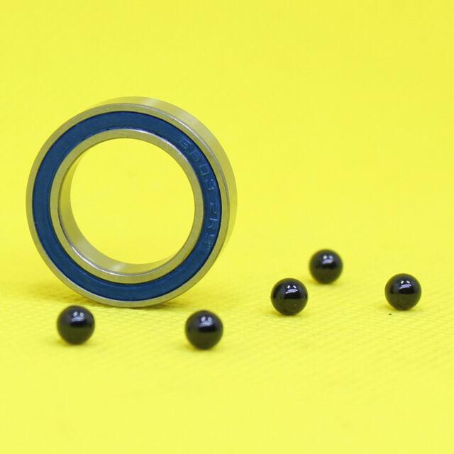 689-2RS HYBRID CERAMIC Si3N4 Ball Bearing Bearings 689RS QTY 10 9x17x5 mm